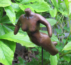 click image to enlarge Bronze Body Sculpture  by Ingrid Cryns